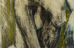 Vaso con figura femminile