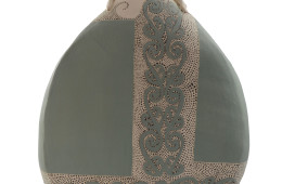 Scultura femminile maori