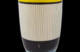 Vaso geometrico giallo